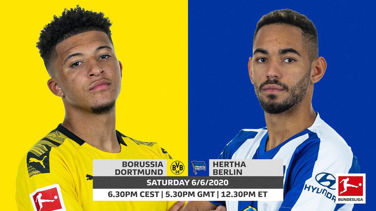 Dortmund vs Hertha Berlin: Không phải dạng vừa đâu