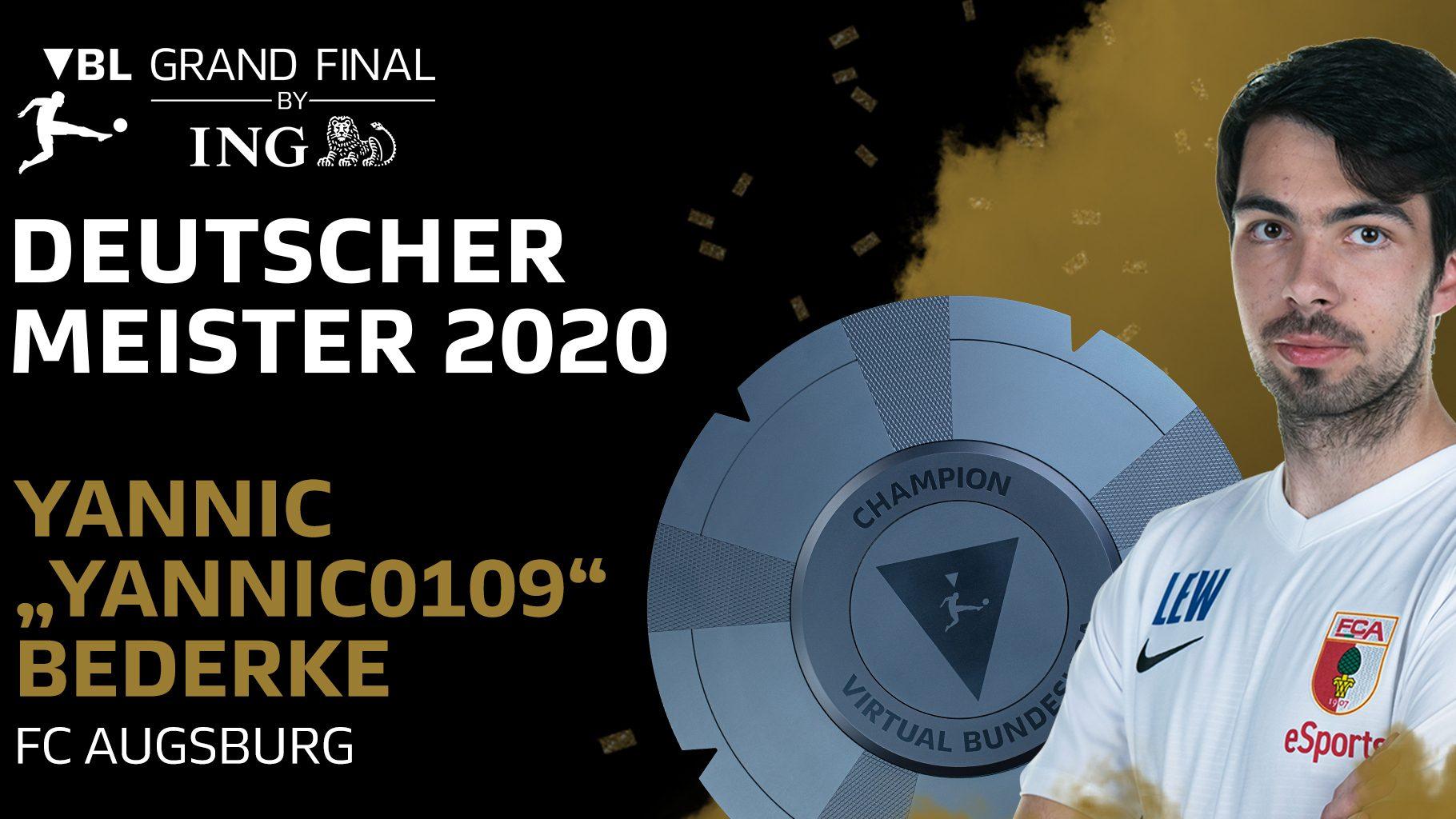 """""""Yannic0109"""" gewinnt das VBL Grand Final by ING"""