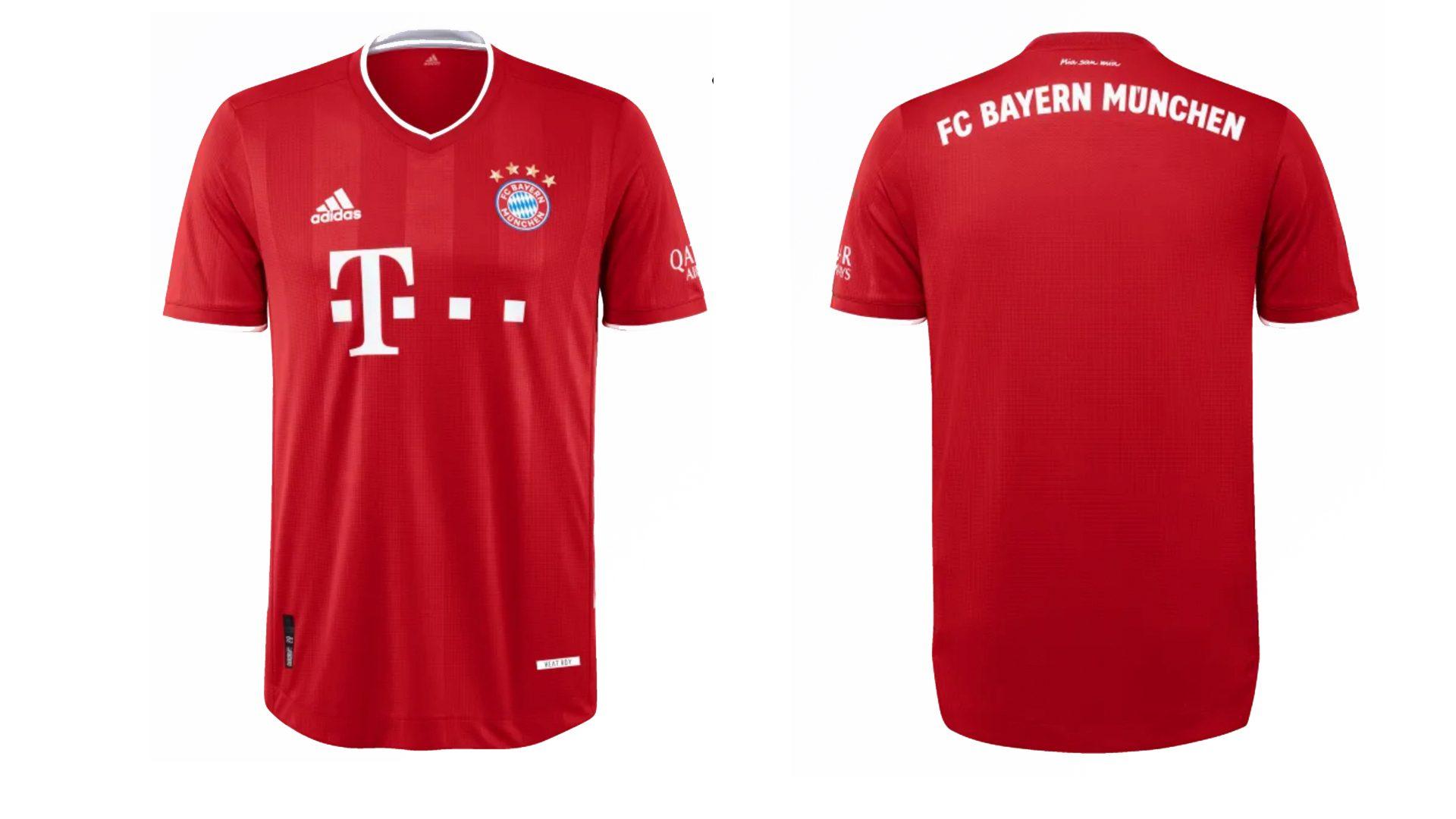 Nueva camiseta local FC Bayern München