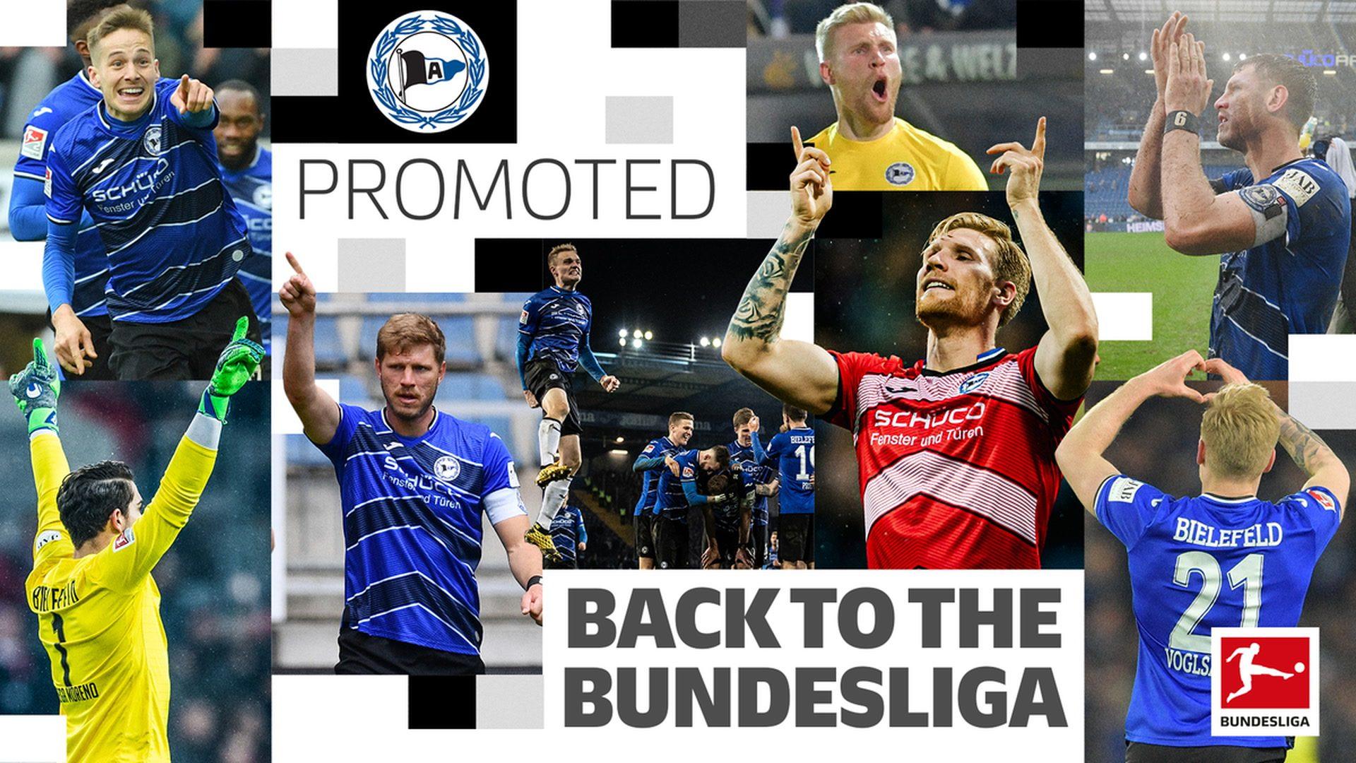 Arminia Bielefeld: welcome back to the Bundesliga!