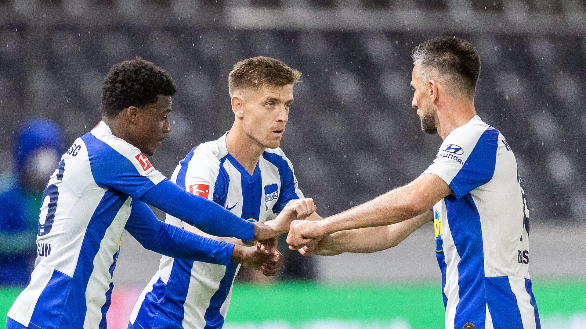 """Bundesliga   Hertha Berlin's Vedad Ibisevic: """"We've realised it pays to  work hard as a team"""""""