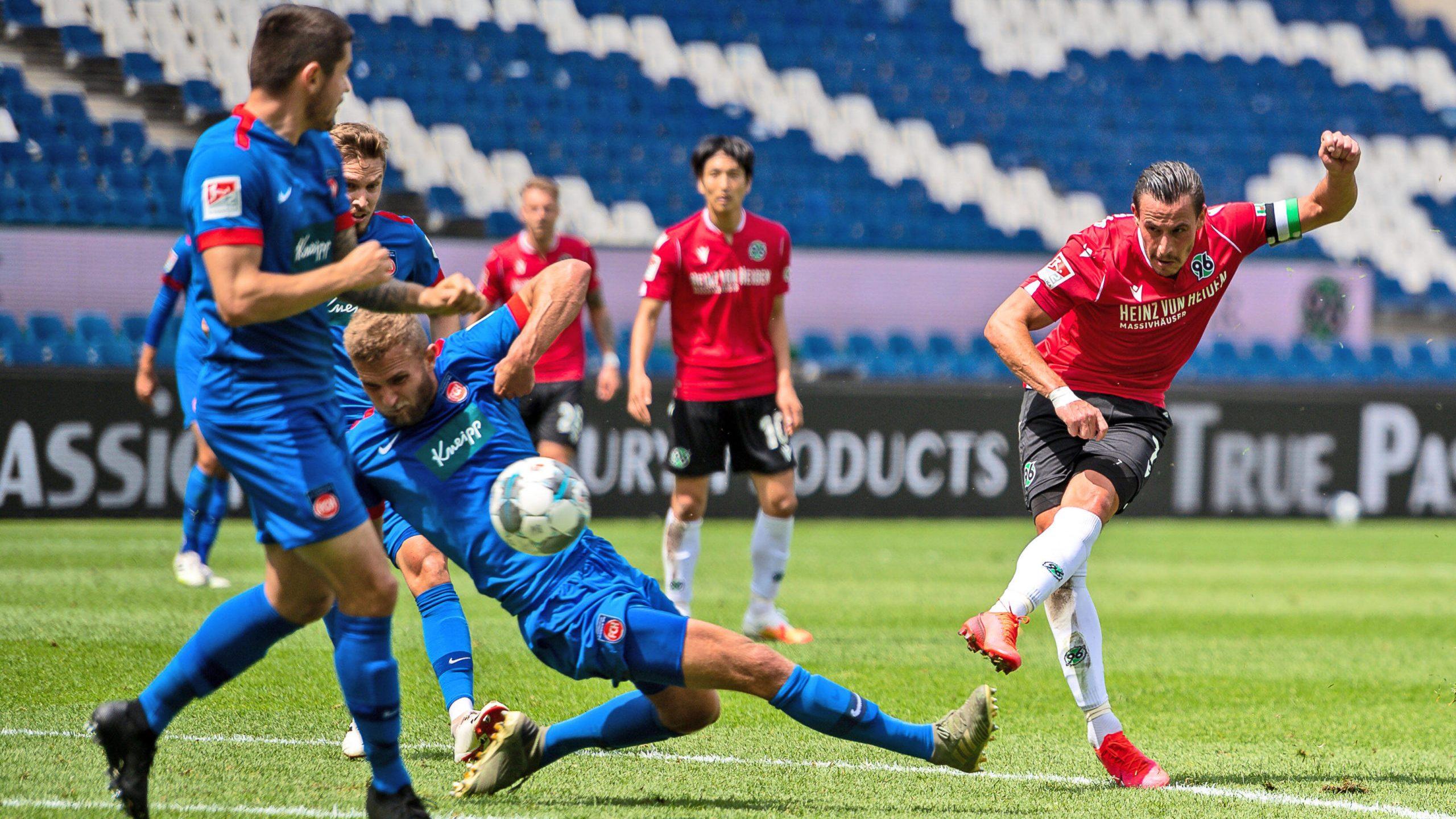 2. Bundesliga | Hannover 96 -1. FC Heidenheim 1846 | Spielbericht
