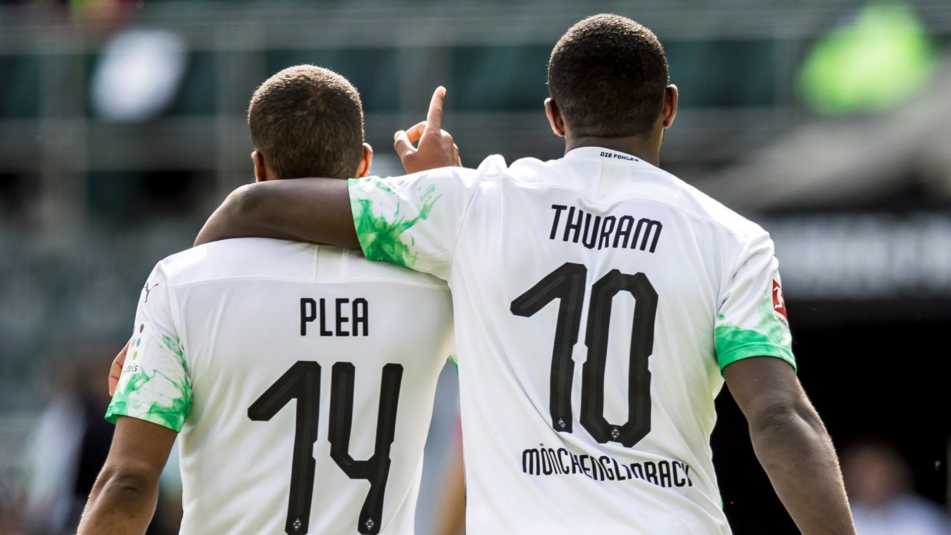 Bundesliga Alassane Plea And Marcus Thuram Powering Borussia Monchengladbach S European Charge