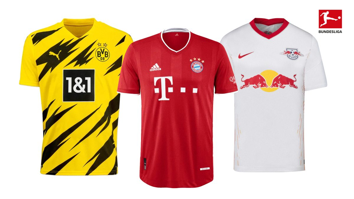 Bundesliga Buy The New Bundesliga Jerseys For The 2020 21 Season