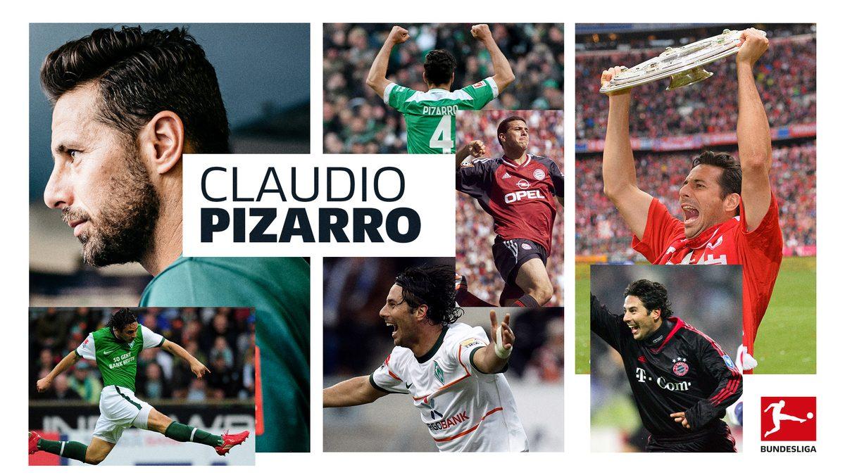 Titel, Tore, Tränen: Claudio Pizarro macht Schluss
