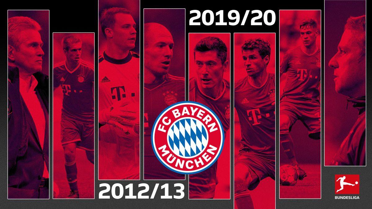 Bundesliga | How Hansi Flick's Bayern Munich compares to Jupp Heynckes' 2013 treble winners