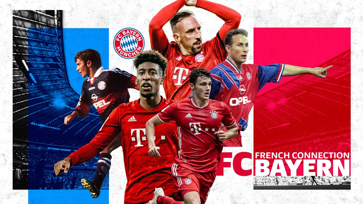 Bundesliga FC French Connection Bayern Munich The Unlikely Home Of French World Champions Past And Present