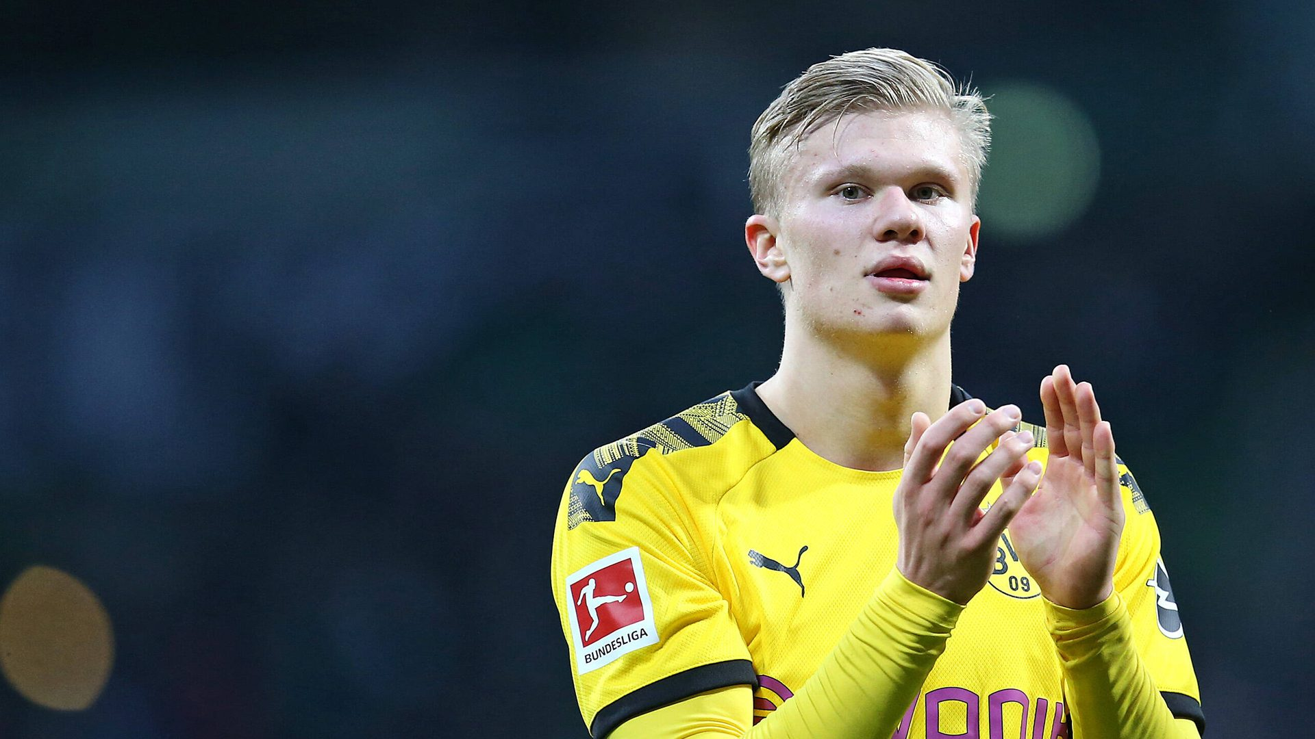 Bundesliga Erling Haaland Named Borussia Dortmund S New No 9