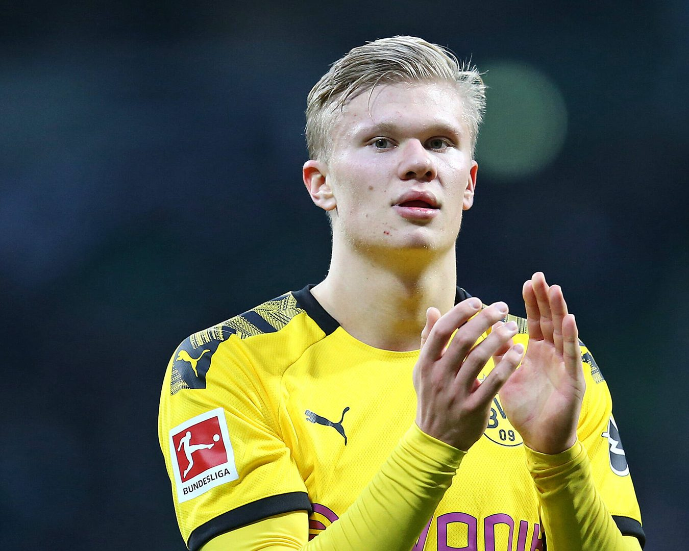 Bundesliga Erling Haaland Named Borussia Dortmund S New No 9