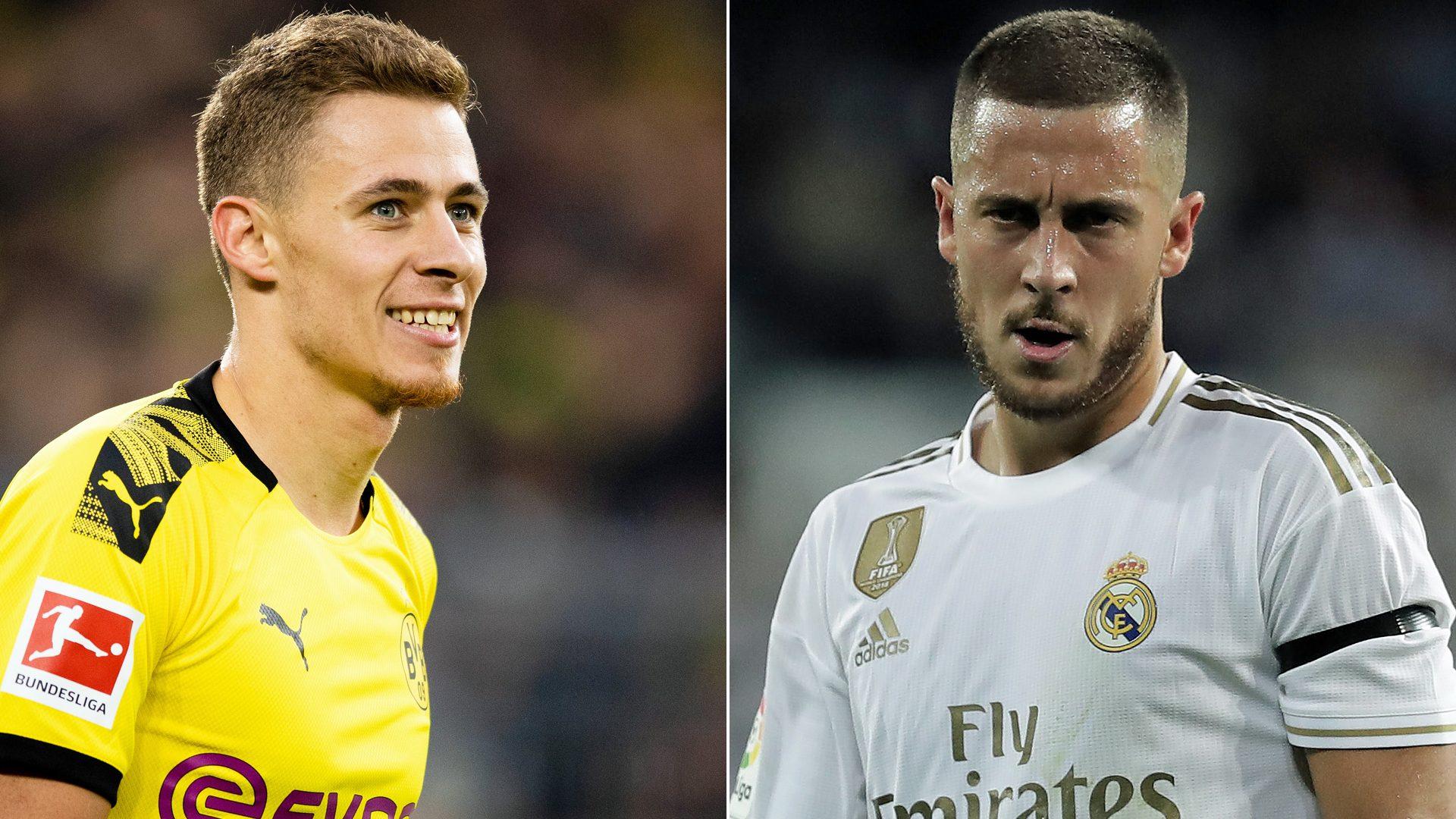 Thorgan Hazard Borussia Dortmund star fast emerging from brother ...