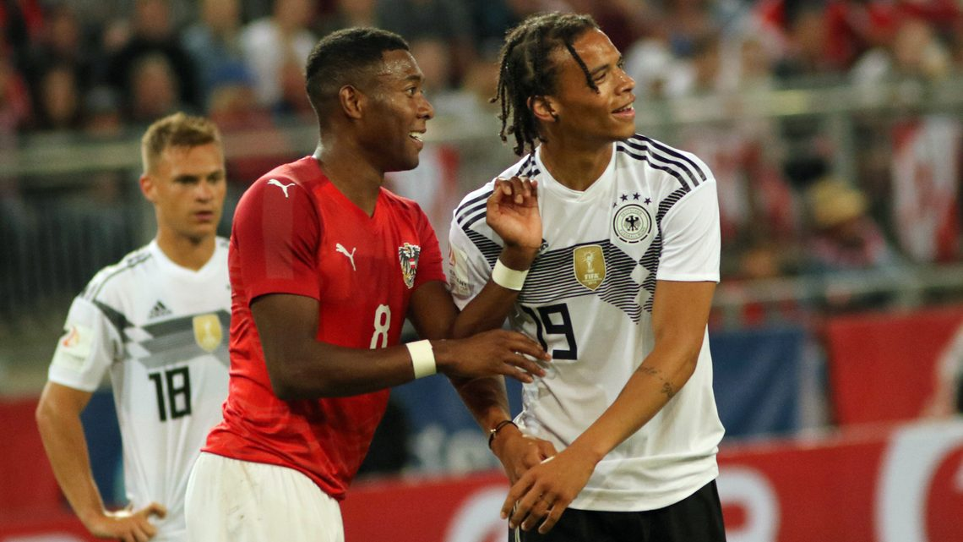 "Bundesliga | Leroy Sane: ""I really want to play with David Alaba ..."