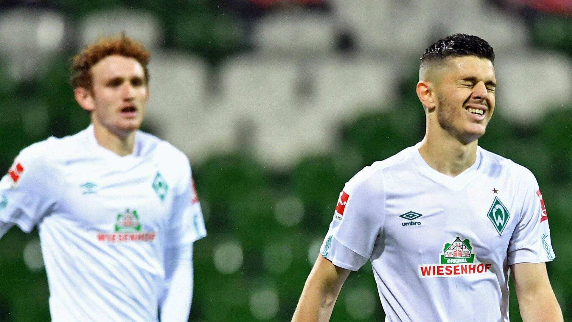 Heidenheim hold 10-man Bremen