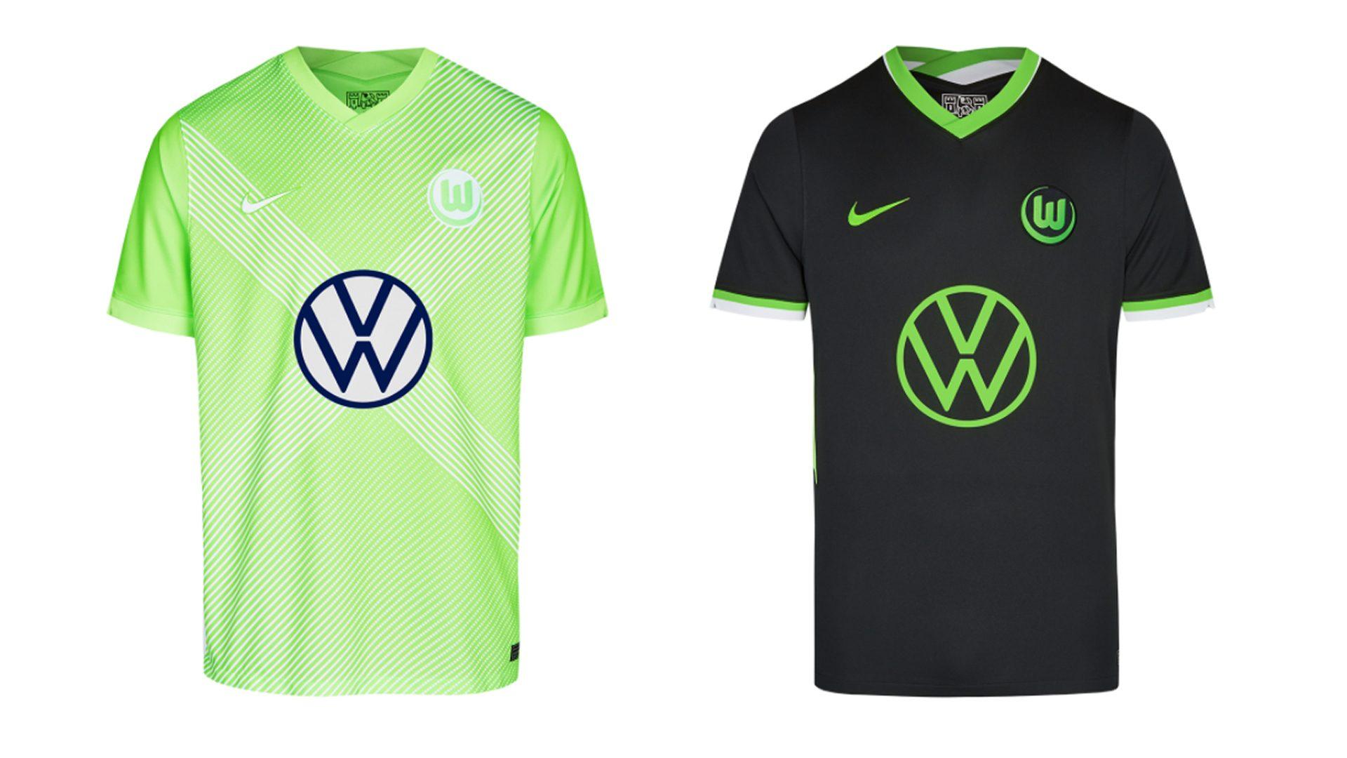 Nueva indumentaria local y visitante VfL Wolfsburg