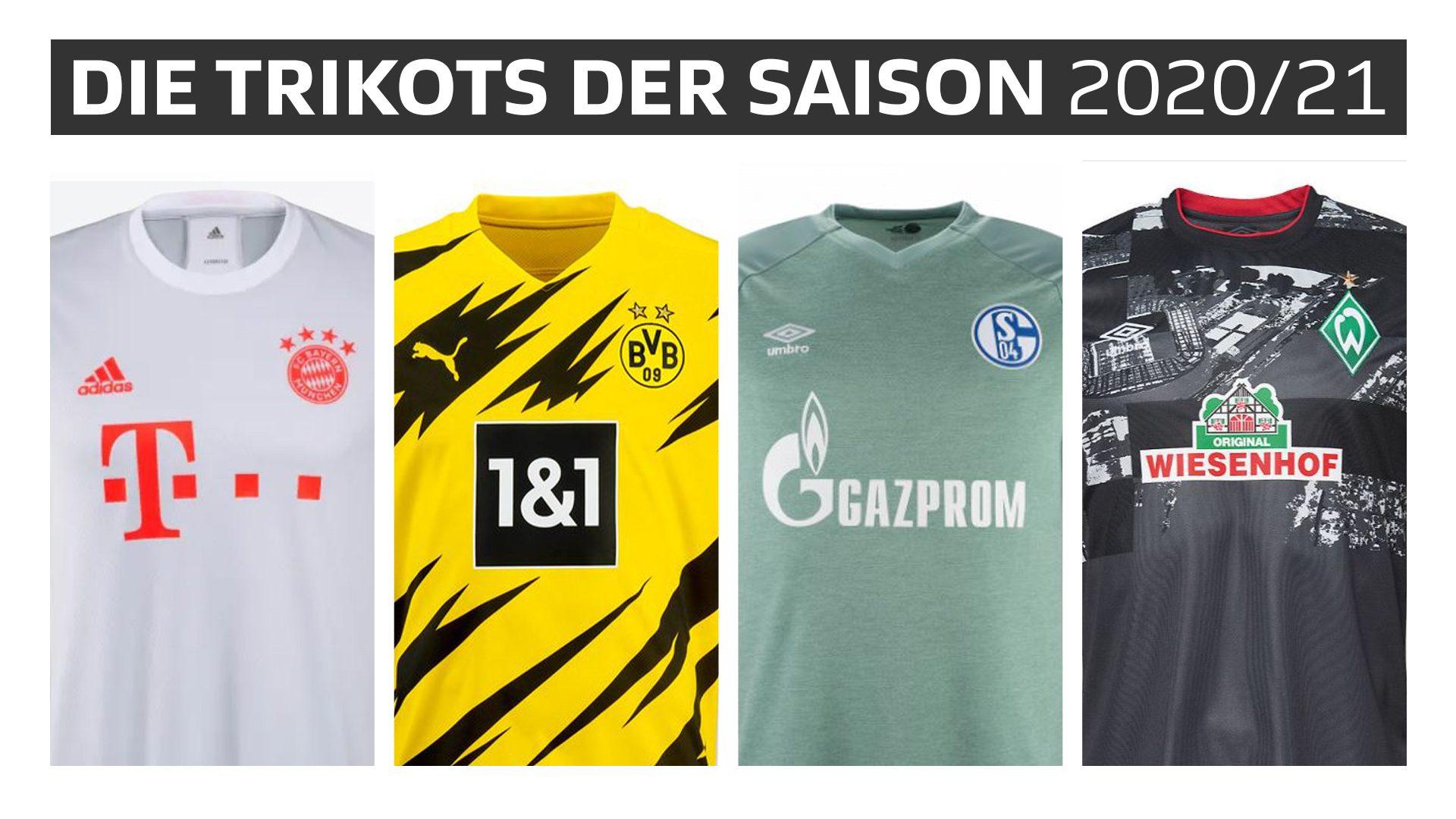 Bundesliga: Die Trikots der Saison 2020/21