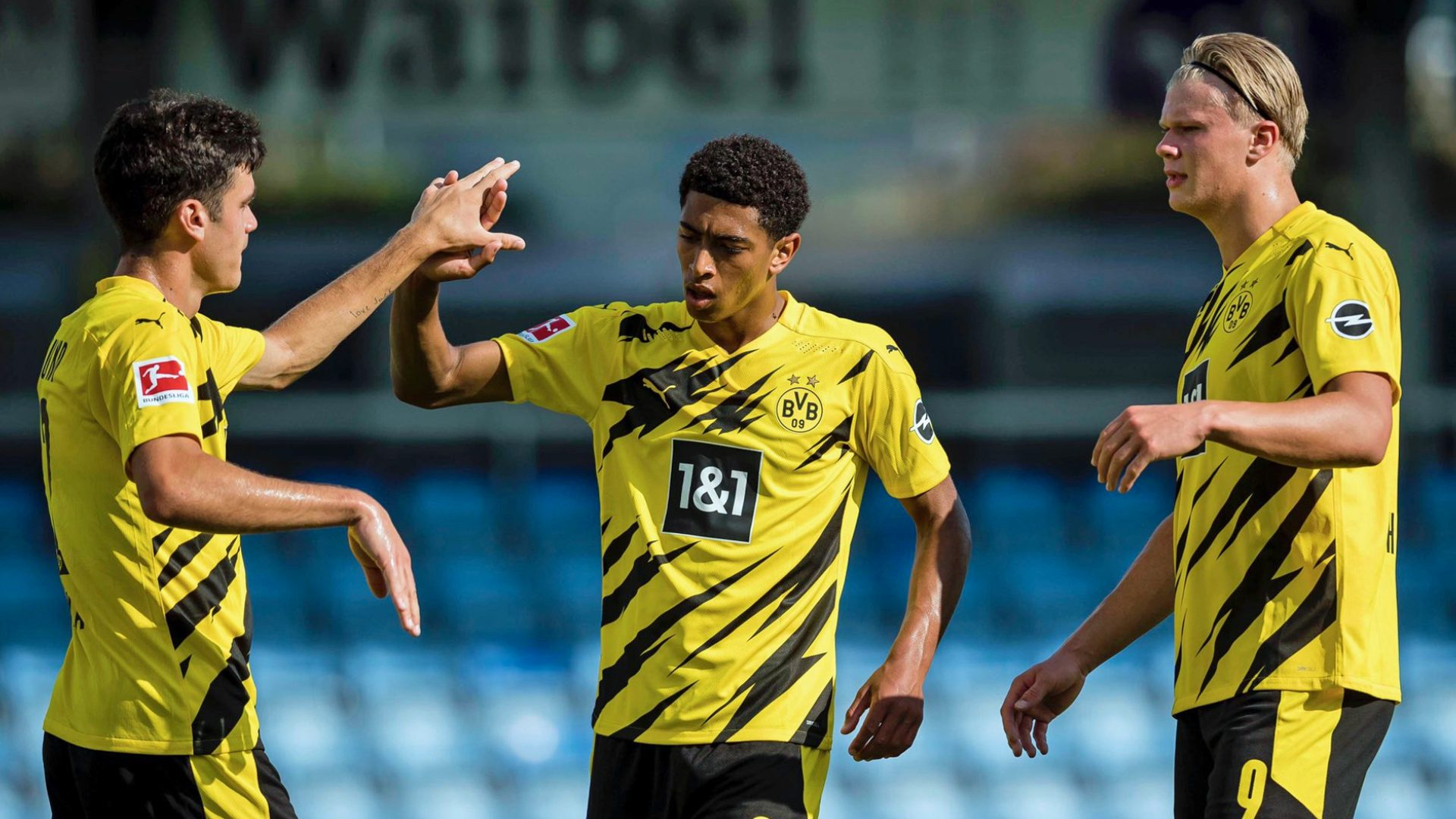 Bundesliga | Jude Bellingham and Erling Haaland star in Borussia Dortmund's  first 2020/21 pre-season win