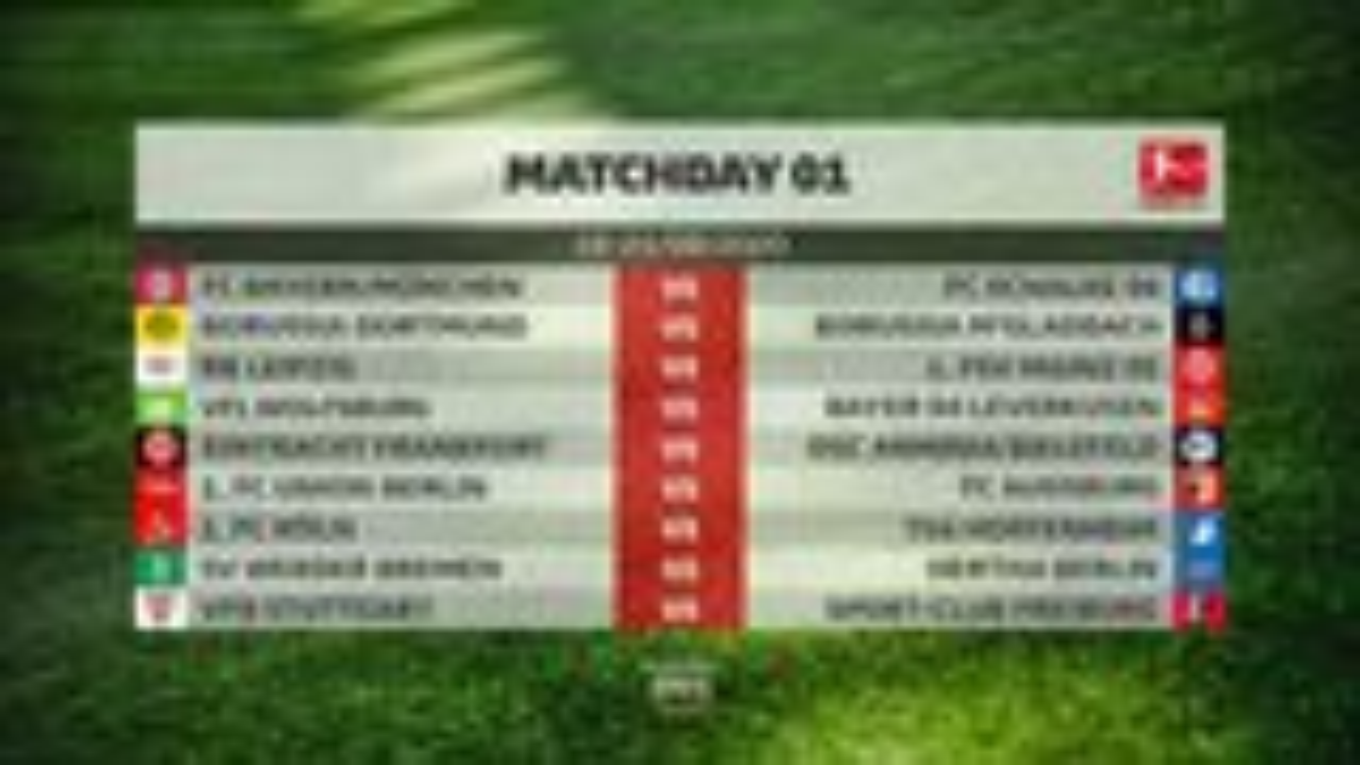 2020-21 season: DFL publishes Bundesliga and Bundesliga 2 fixture lists