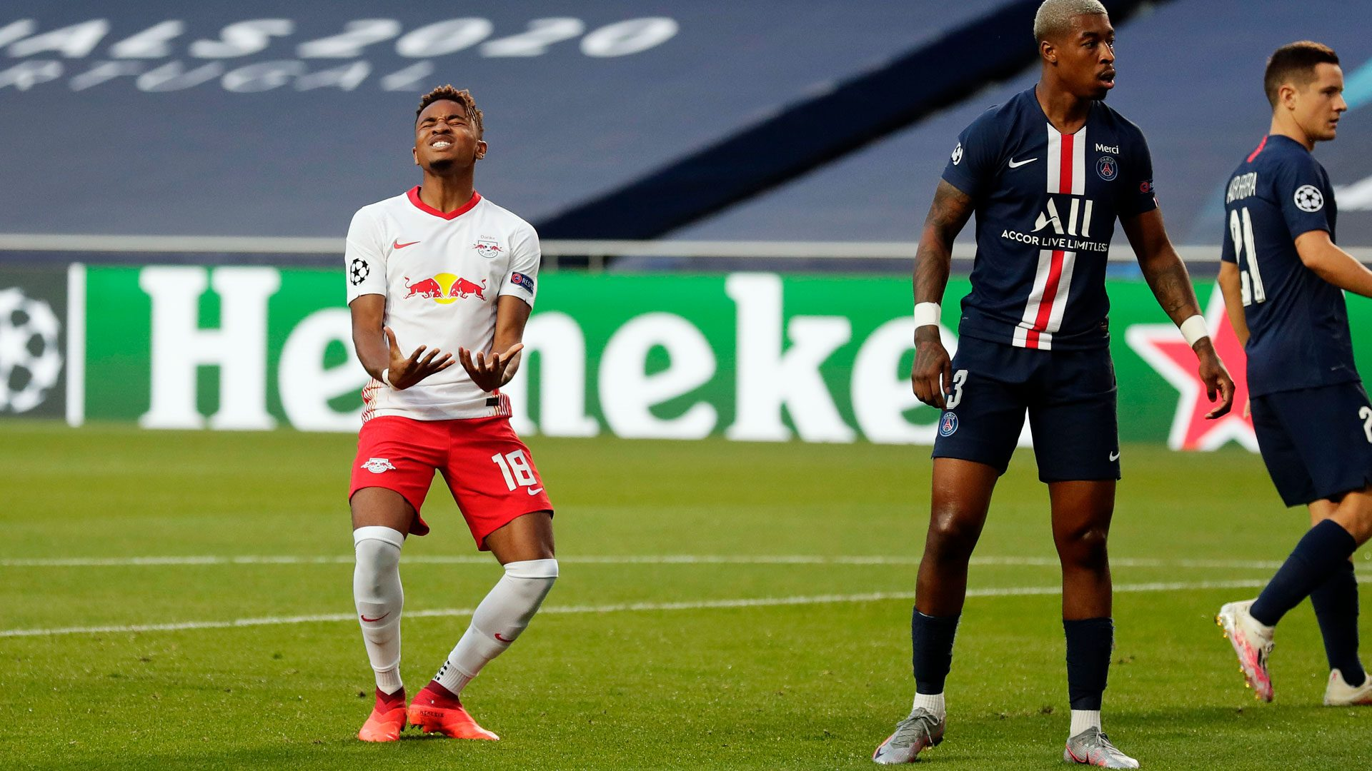 Bundesliga Rb Leipzig 0 3 Paris Saint Germain Uefa Champions League Semi Final As It Happened