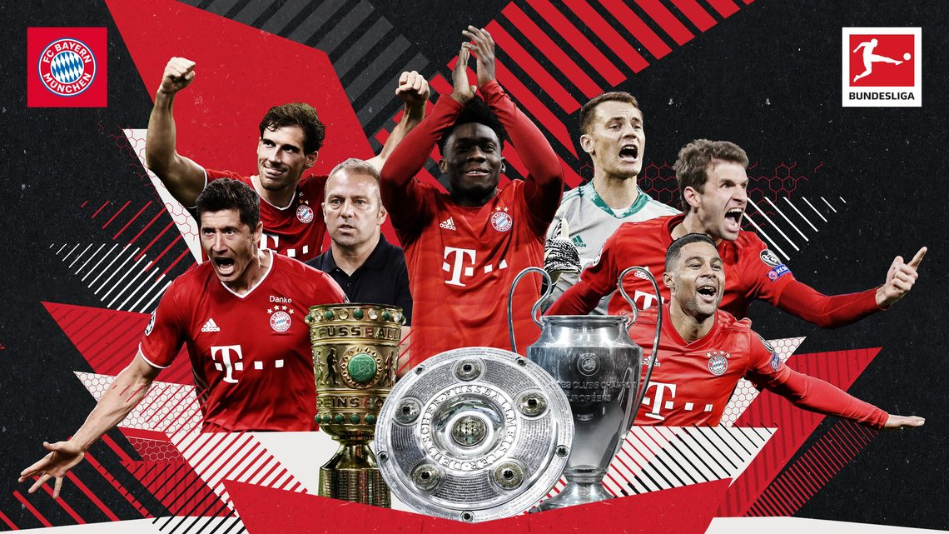 Bundesliga Bayern Munich Seal Treble With Uefa Champions League Final Win Over Psg