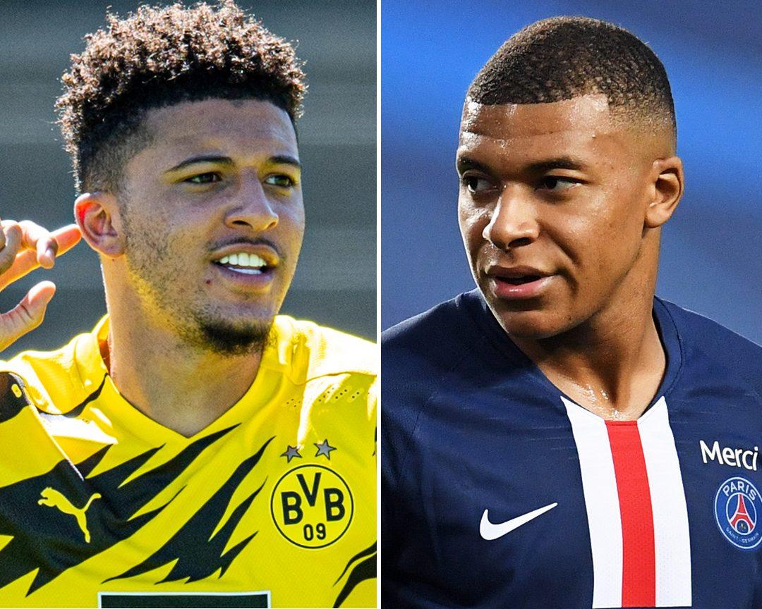 "Bundesliga | Borussia Dortmund's Jadon Sancho: ""Kylian Mbappe told me I'll  go far"""