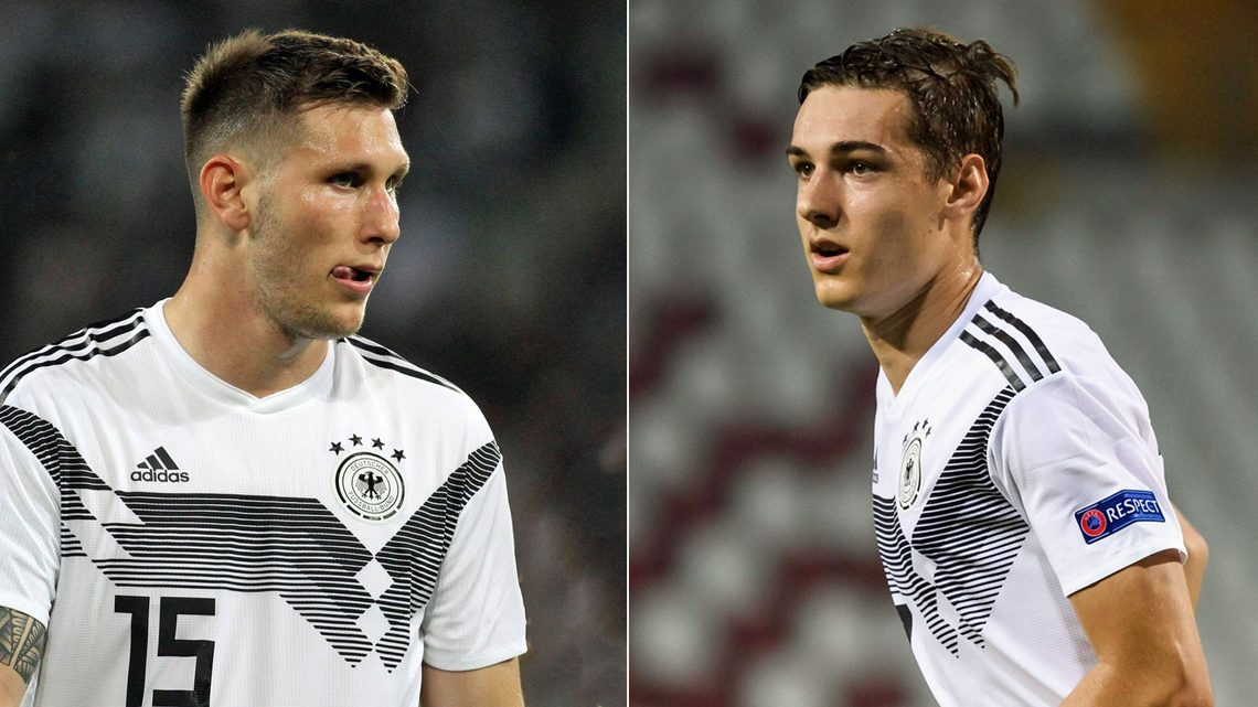 Bundesliga Niklas Sule And Florian Neuhaus Called Up To Germany Squad To Face Spain And Switzerland