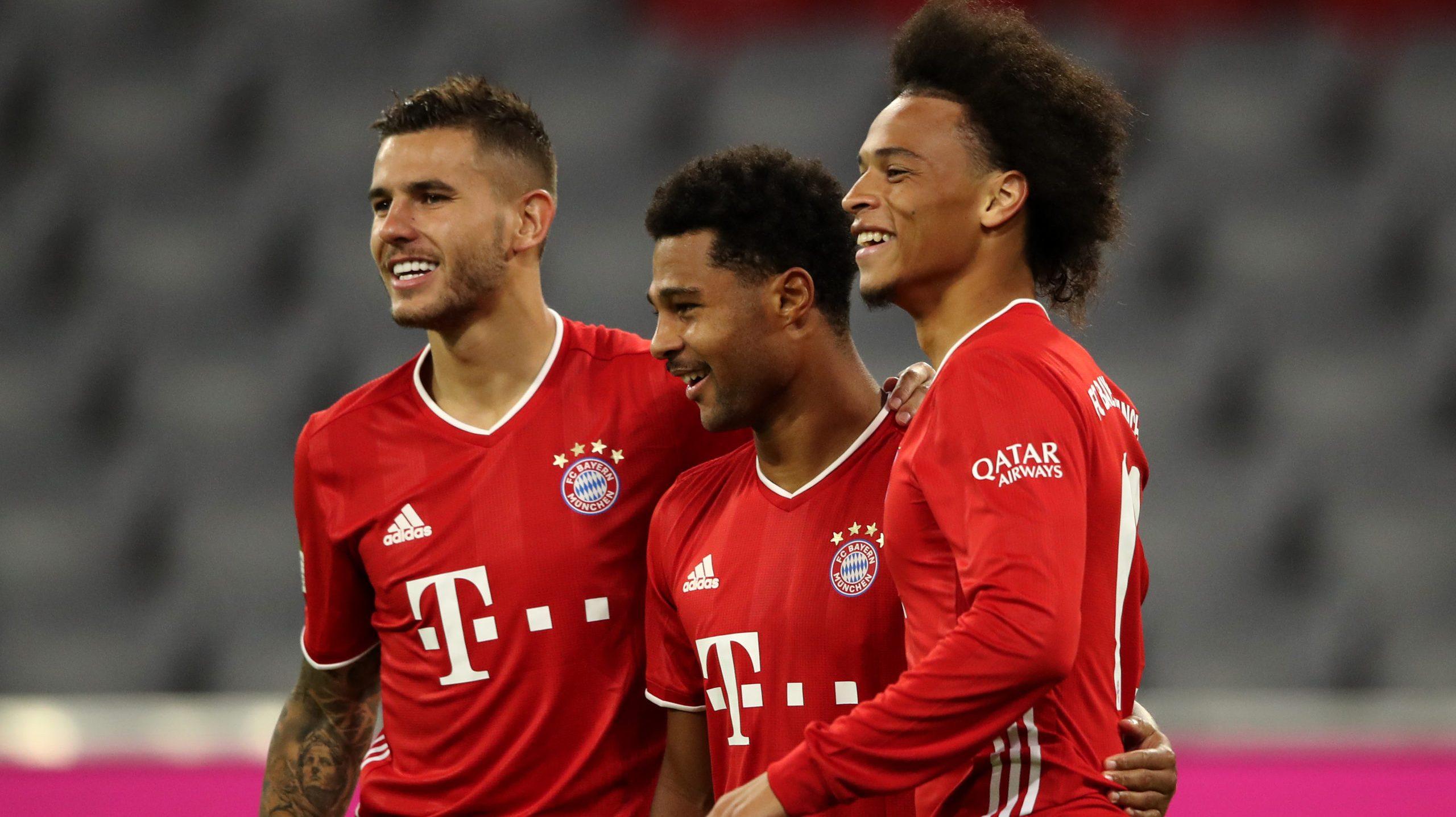 Bayern shock Schalke with eight-goal salvo