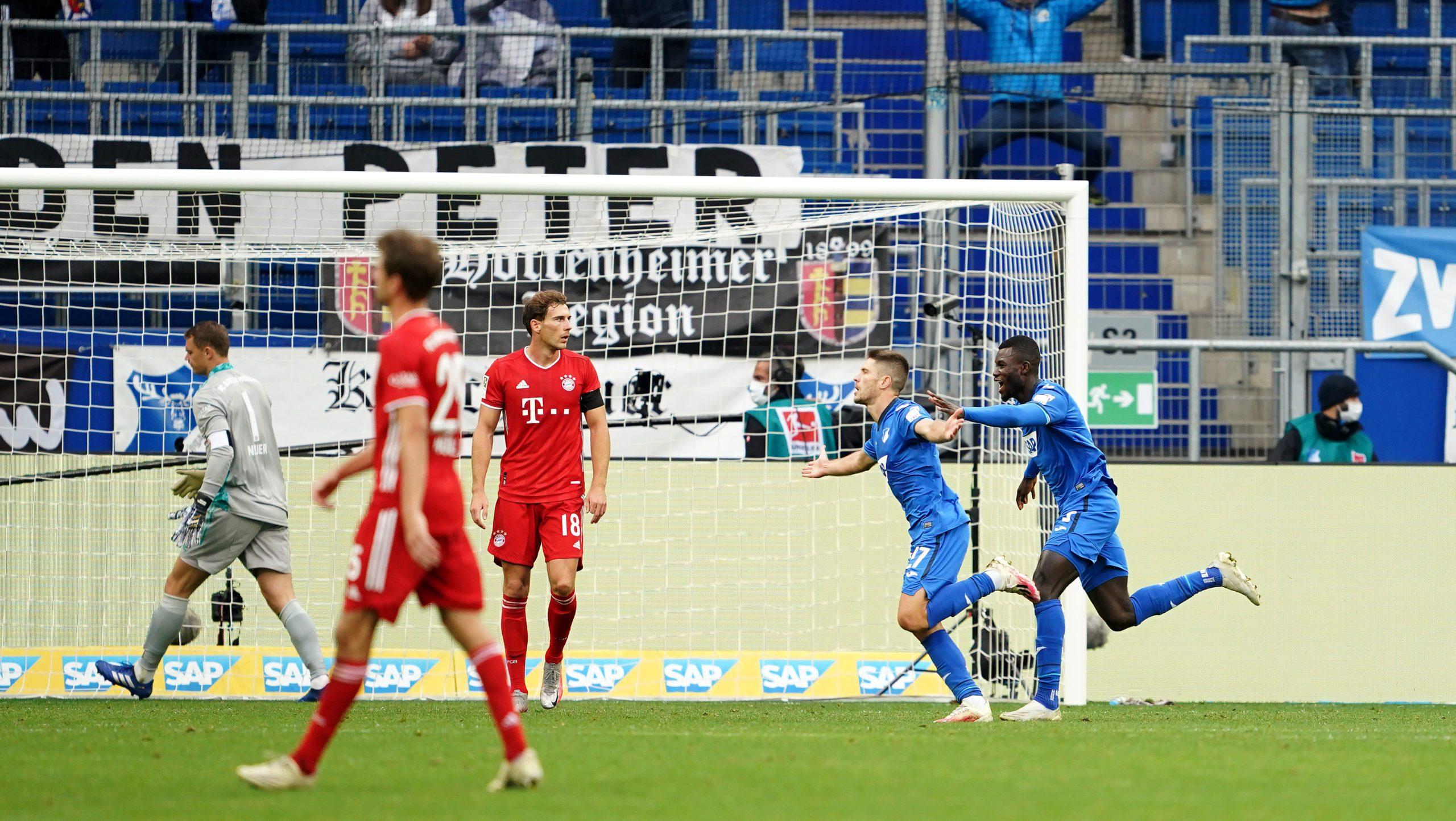 4:1! Hoffenheimer Konter-Gala gegen Bayern München