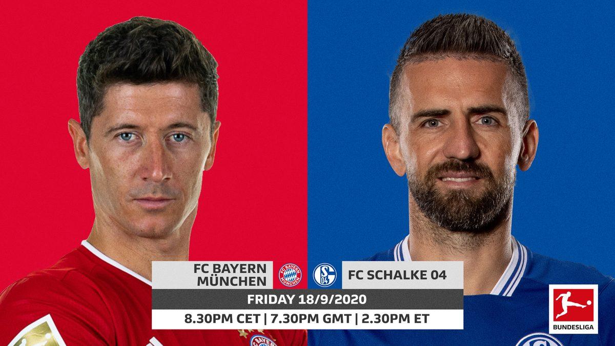 Bundesliga | Bayern Munich vs. Schalke: probable line-ups ...