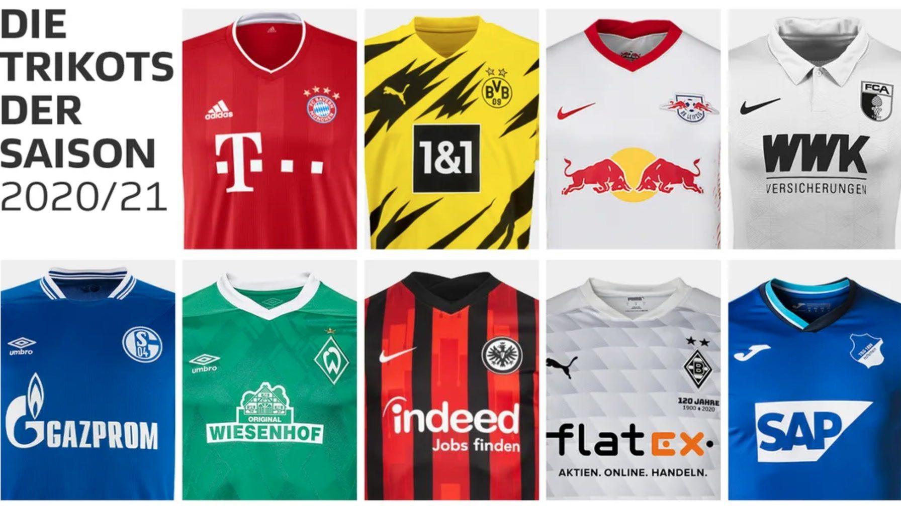 Neue Trikots 2021/16 Bundesliga