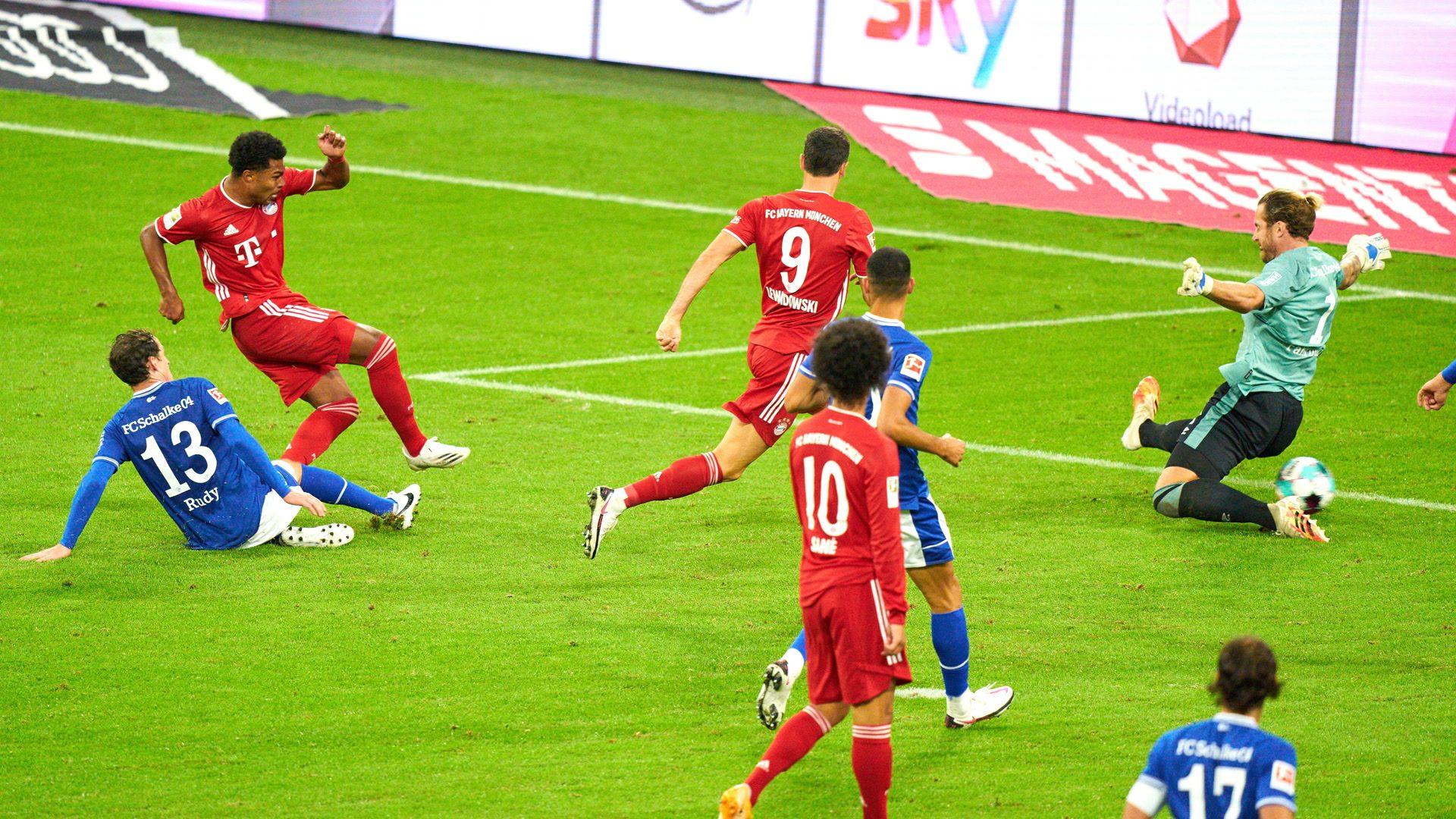 8:0-Kantersieg für die Bayern gegen Schalke