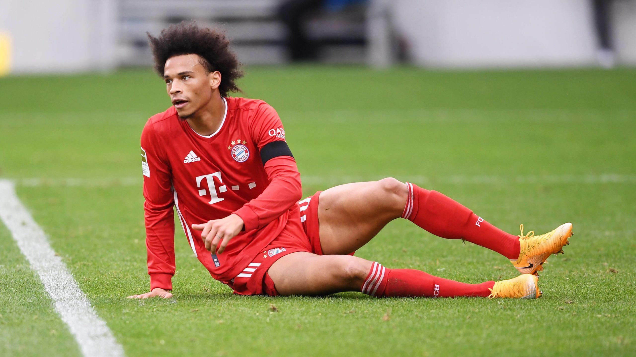 Bundesliga Leroy Sane Fehlt Bayern Munchen Wegen Einer Knieverletzung