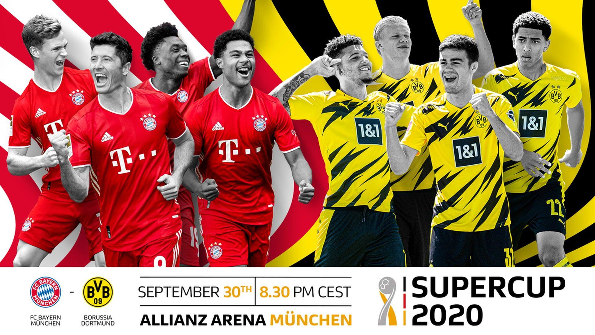 Bundesliga Bayern Munich Vs Borussia Dortmund 2020 Supercup Key Battles