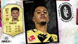 Sancho and the top 5 Bundesliga players in FIFA 21