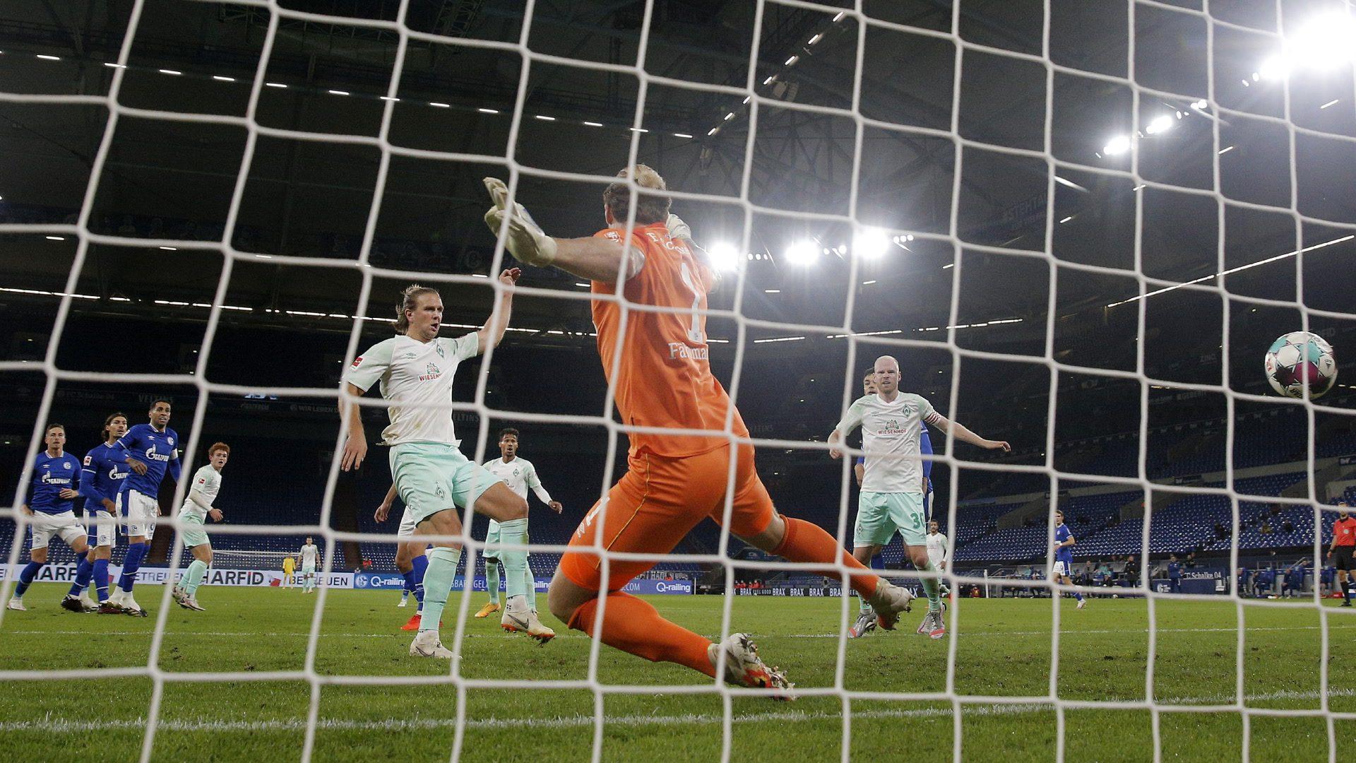 Bremen siegt verdient mit 3:1 auf Schalke