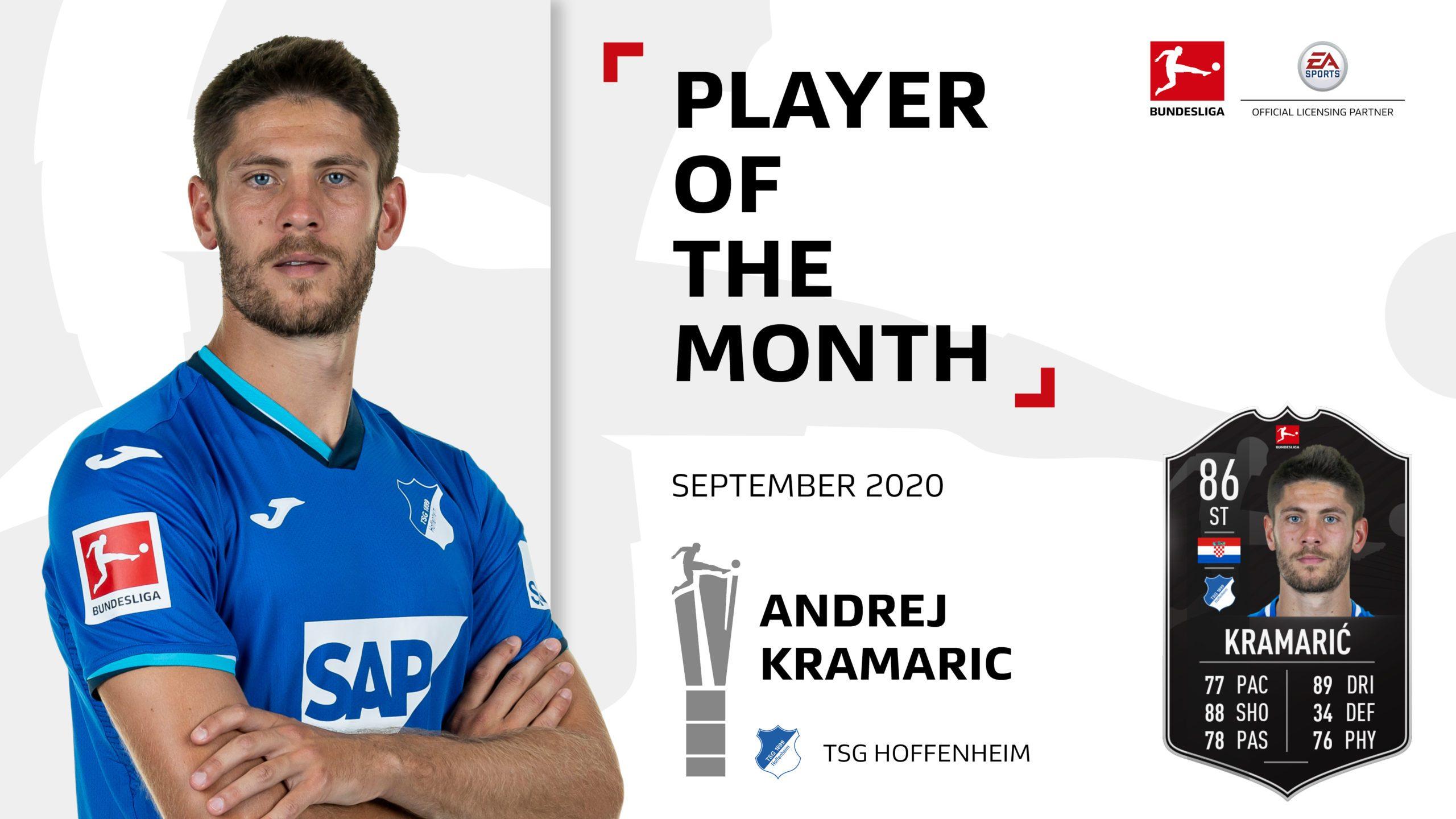 Andrej Kramaric named September Player of the Month!