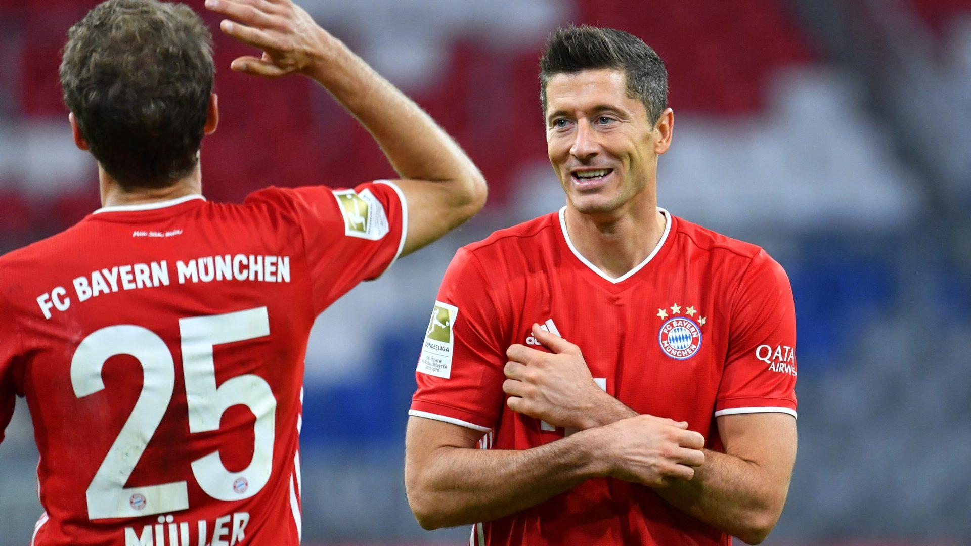 """""""Abteilung Attacke"""" des FC Bayern weiter in Topform"""