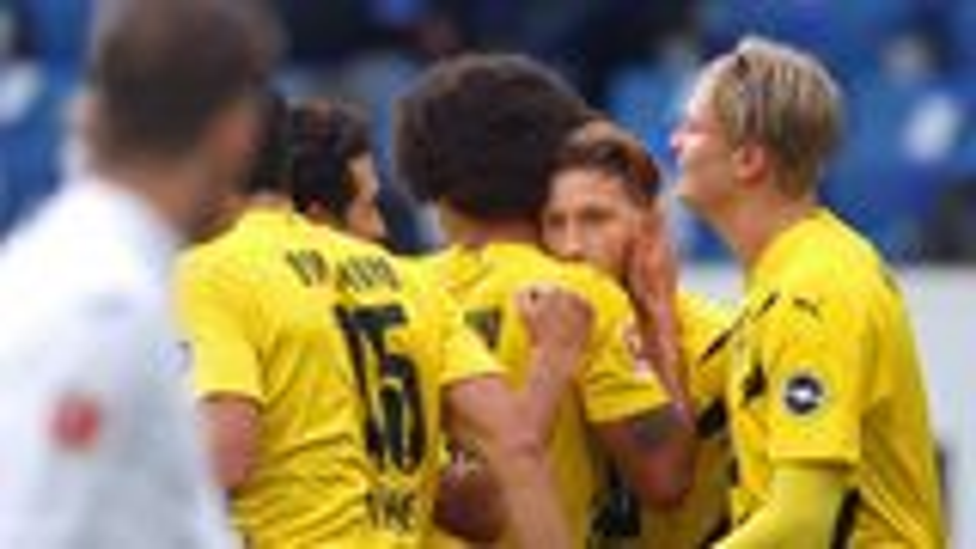 Haaland and Reus combine to down Hoffenheim