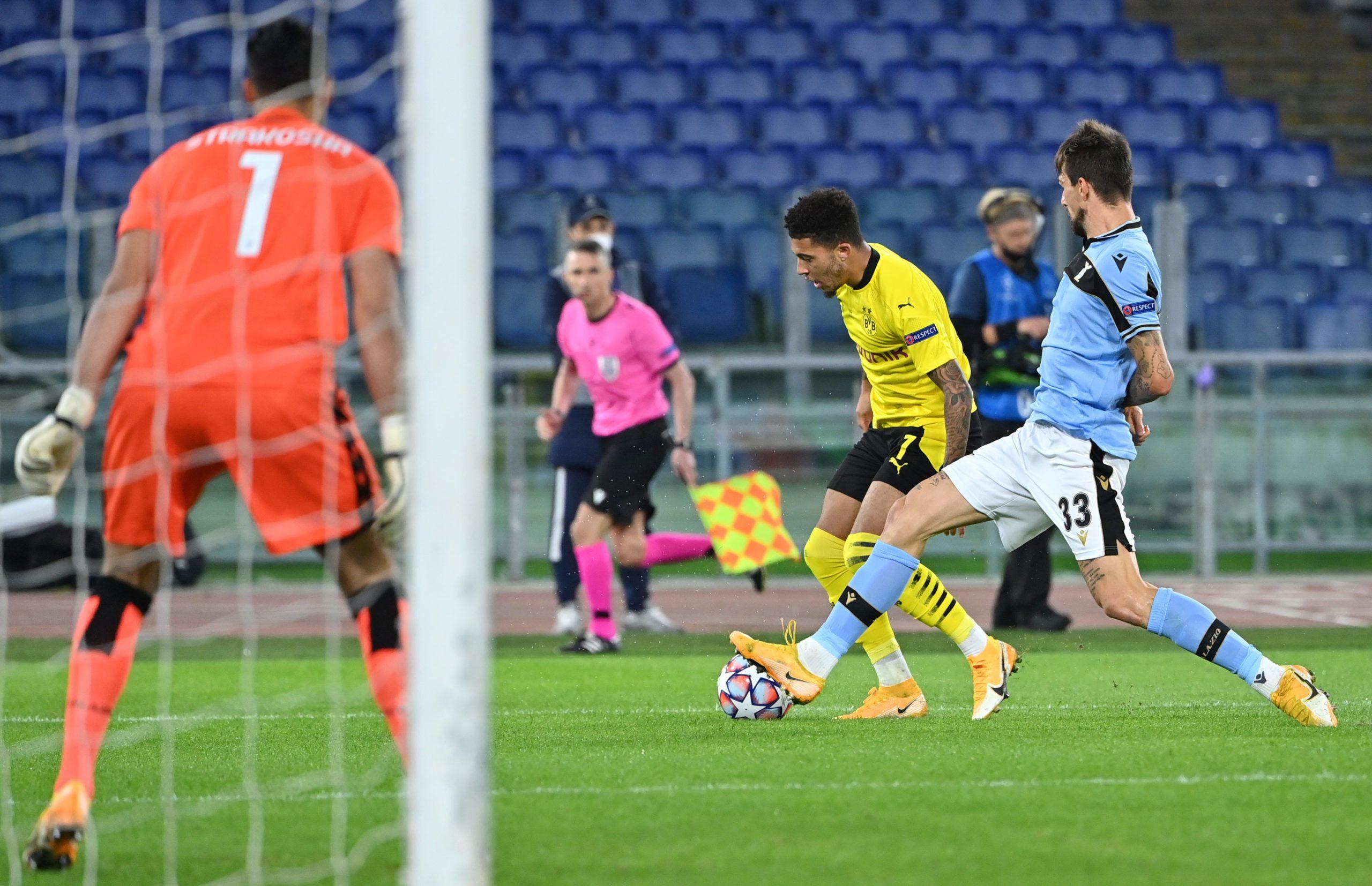 Bundesliga Lazio Vs Borussia Dortmund UEFA Champions League CONFIRMED Line ups Match Stats And LIVE Blog