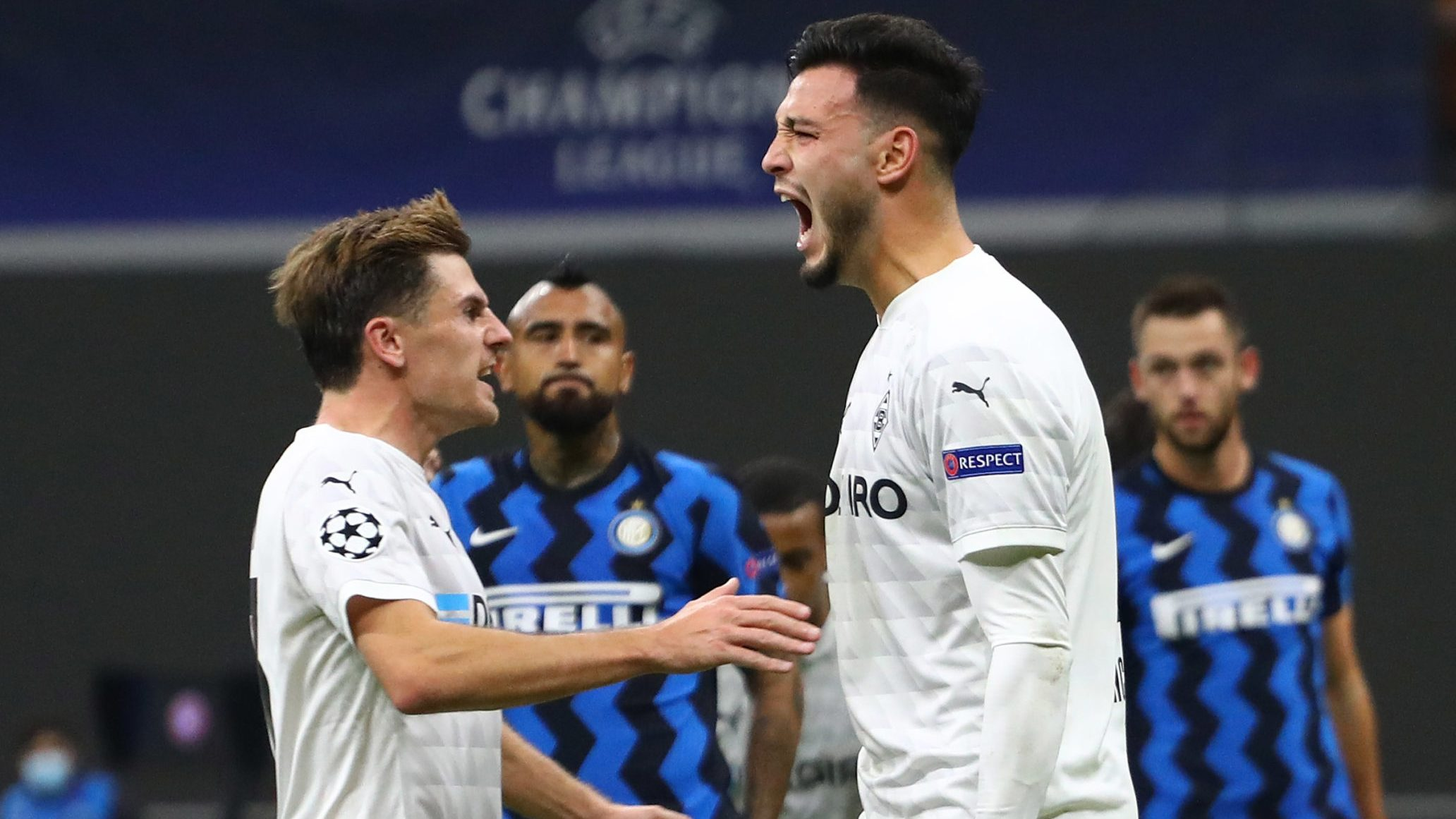 Bundesliga | Borussia Mönchengladbach denied late on in draw at Inter Milan
