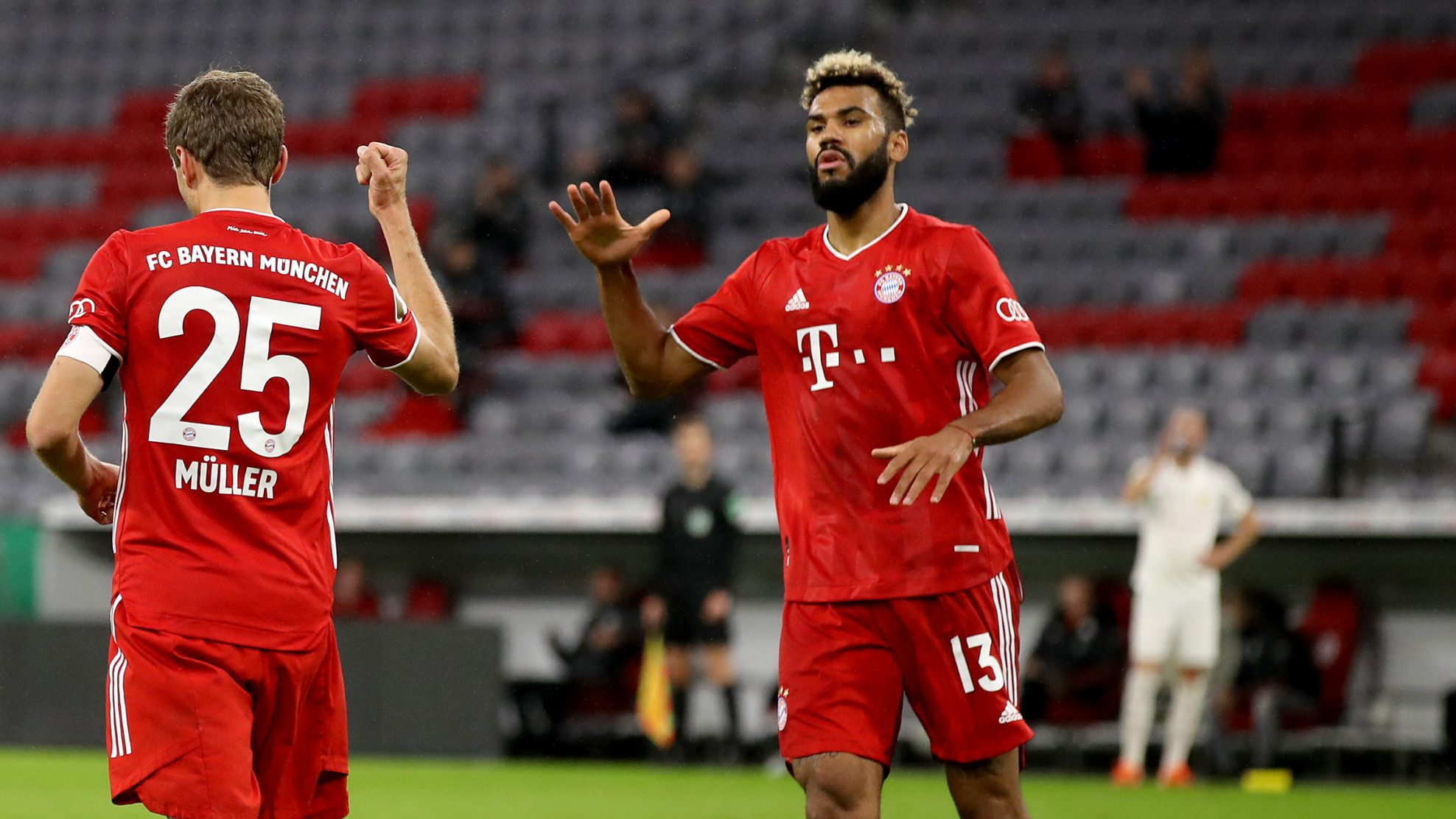 Bundesliga Thomas Mu00fcller And Eric Maxim Choupo Moting Send Bayern Munich Into Dfb Cup Second Round With Win Over Du00fcren