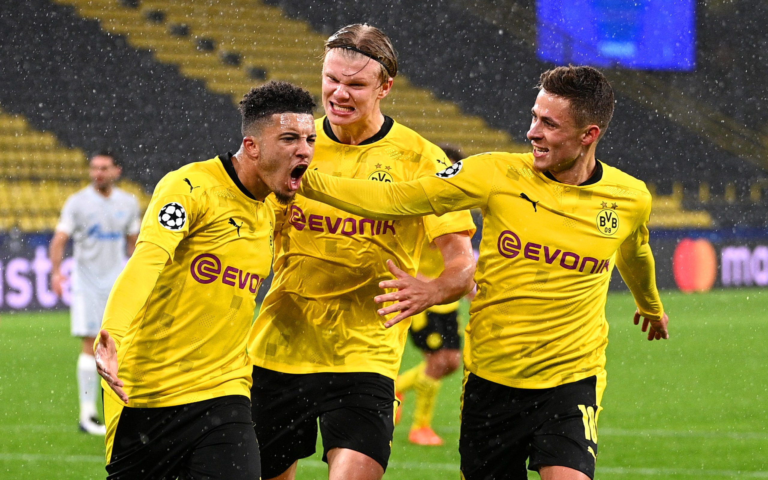 Bundesliga Jadon Sancho And Erling Haaland On Target As Borussia Dortmund Beat Zenit Saint Petersburg