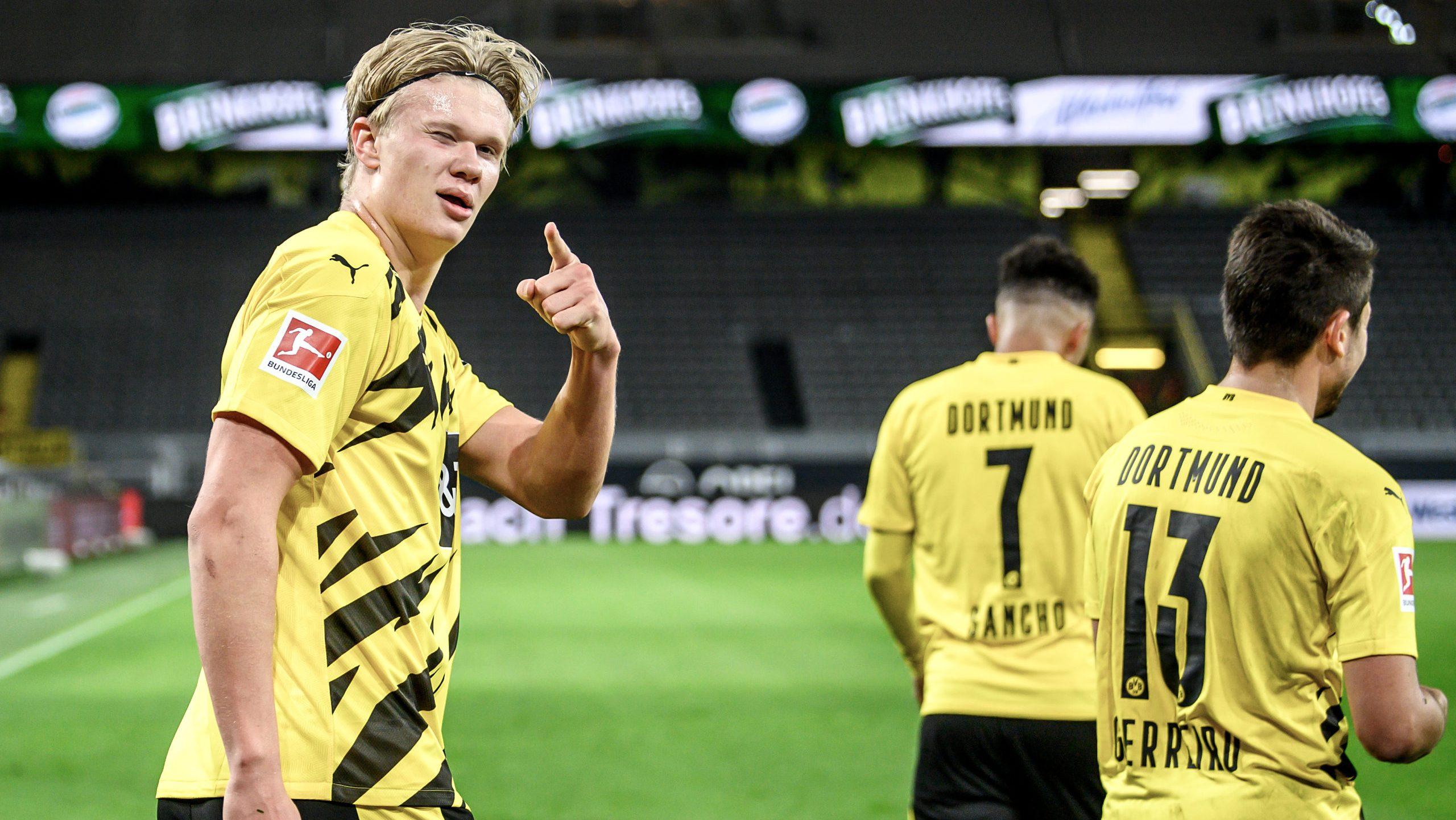 Bundesliga Borussia Dortmund S Erling Haaland I Ve Been Training My Right Foot