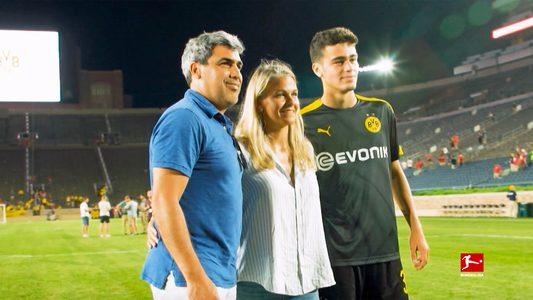 Borussia Dortmund's Gio Reyna: like father - and mother - like son