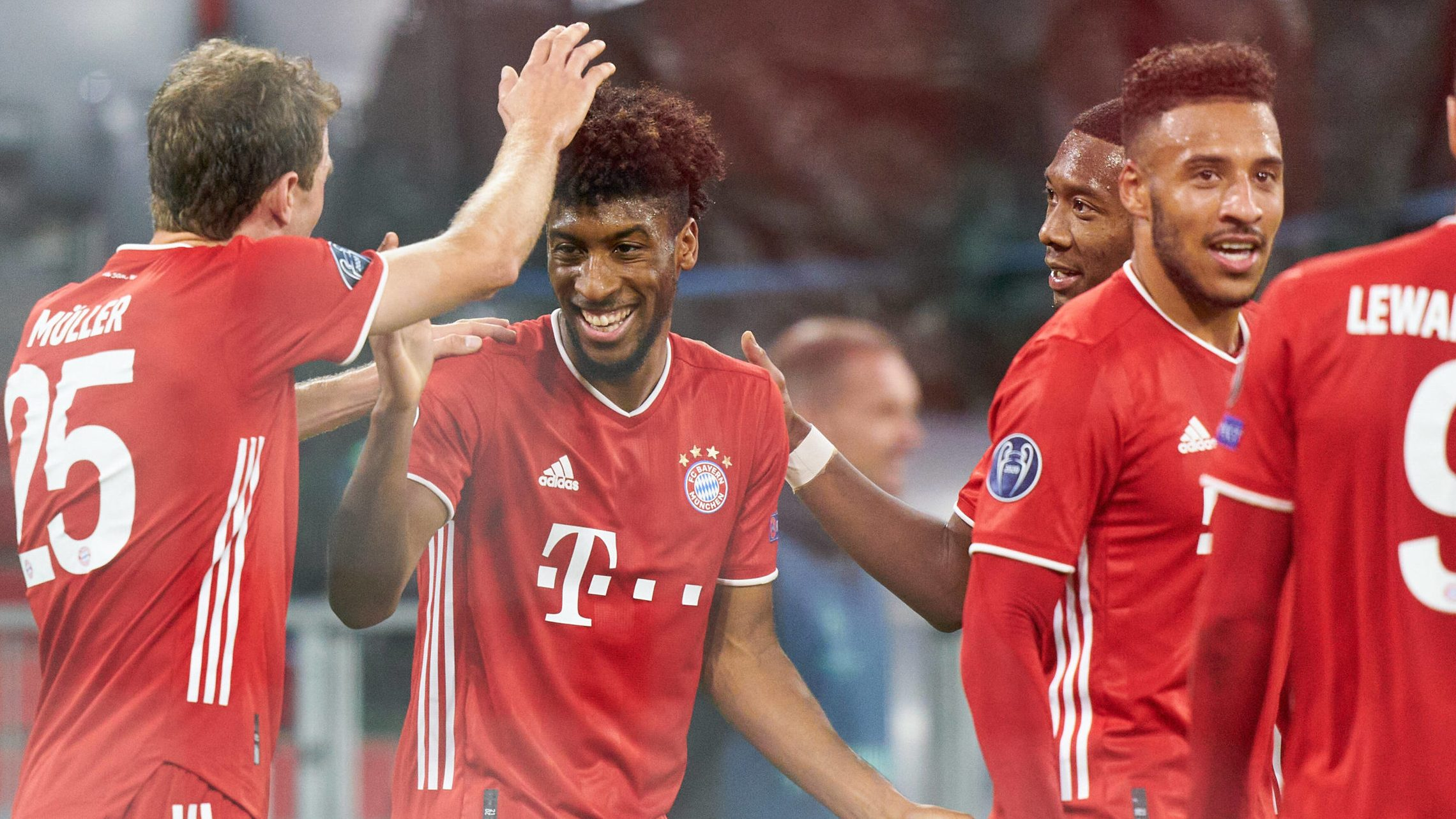 Bundesliga Kingsley Coman Shines As Bayern Munich Hammer Atletico Madrid In Uefa Champions League Opener