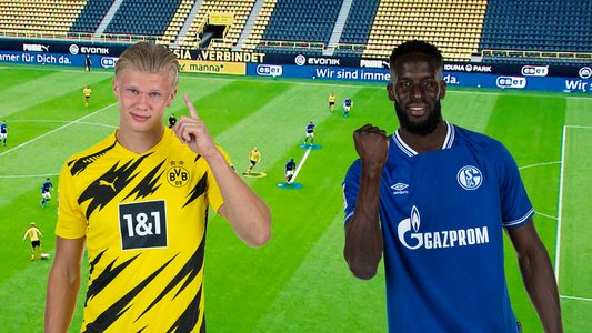 Where might the Revierderby between Borussia Dortmund and Schalke be won and lost?