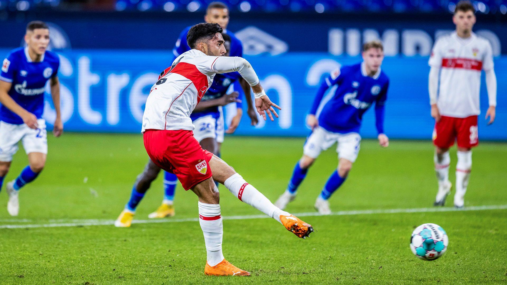 Gonzalez up and running for Stuttgart in Schalke draw