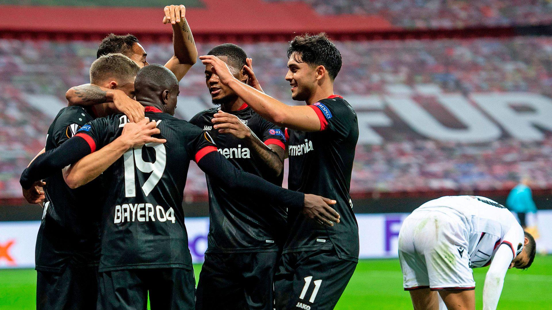 Bundesliga   Bayer Leverkusen begin Europa League campaign in style hitting Nice for six