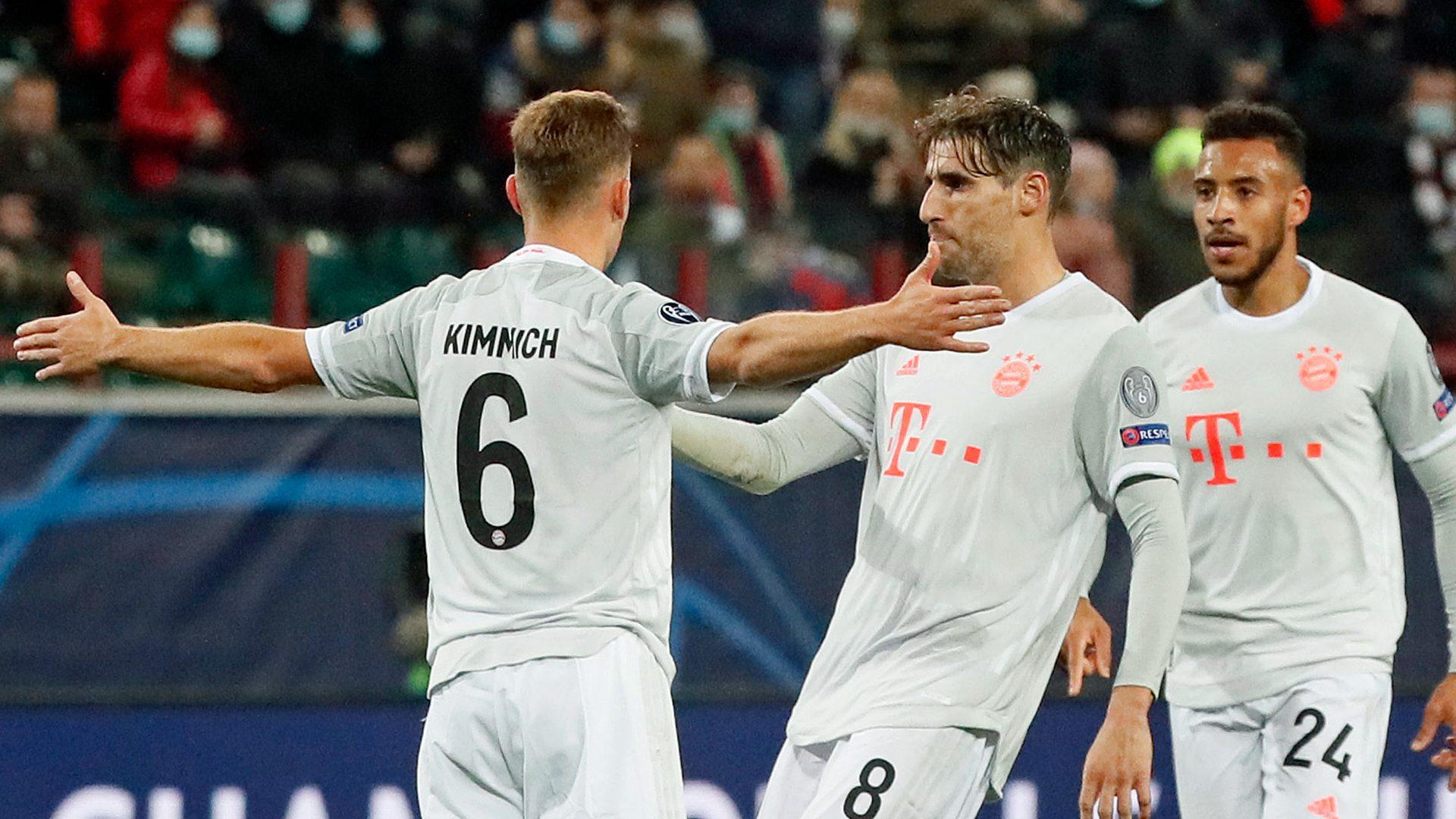 Kimmich rocket fires Bayern to Lokomotiv win
