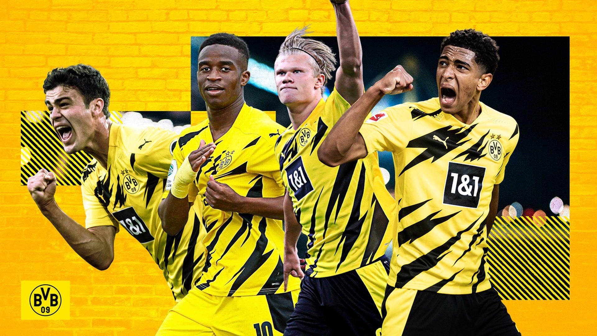Die Rekord-Teenager von Borussia Dortmund