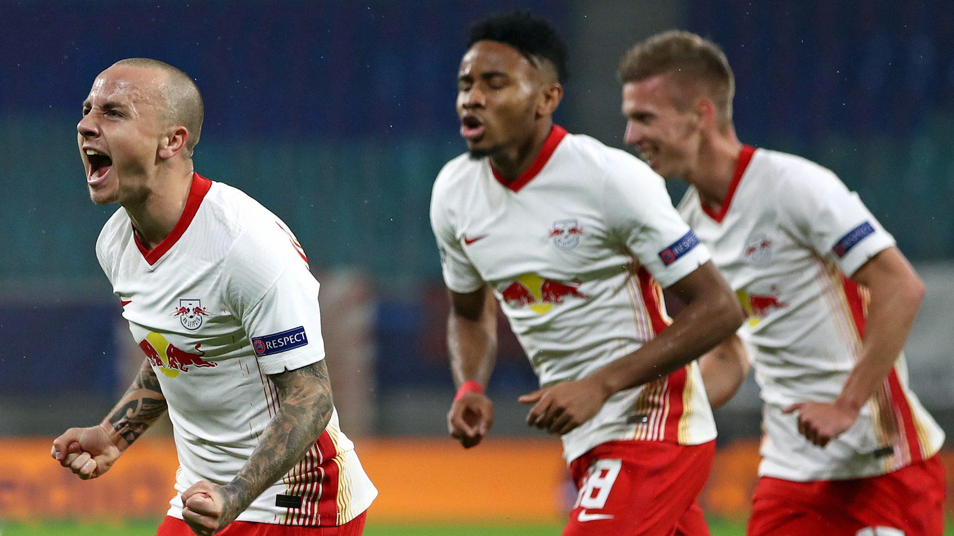 Bundesliga Angelino Double Fires Rb Leipzig To Comfortable Win Over Istanbul Basaksehir