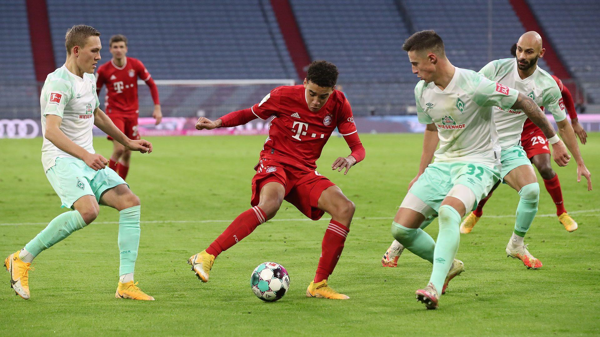 1:1 gegen Bremen: Coman rettet dem FC Bayern einen Punkt